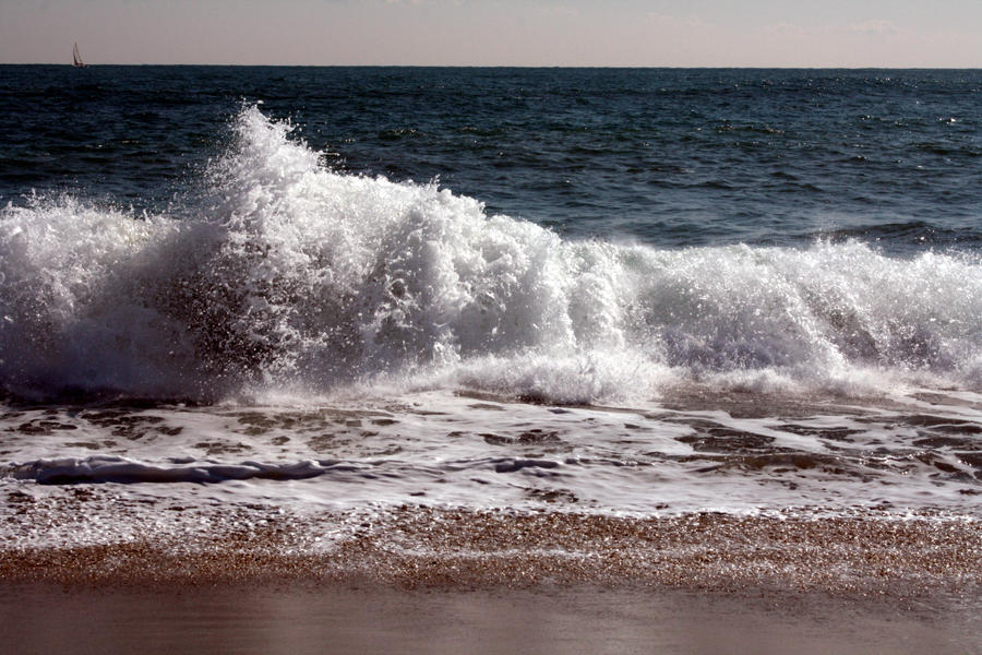 Where the last wave broke... by LutherHarkon