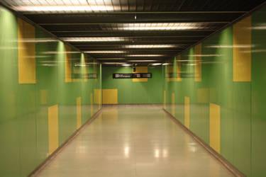 Metro corridor 01 by LutherHarkon