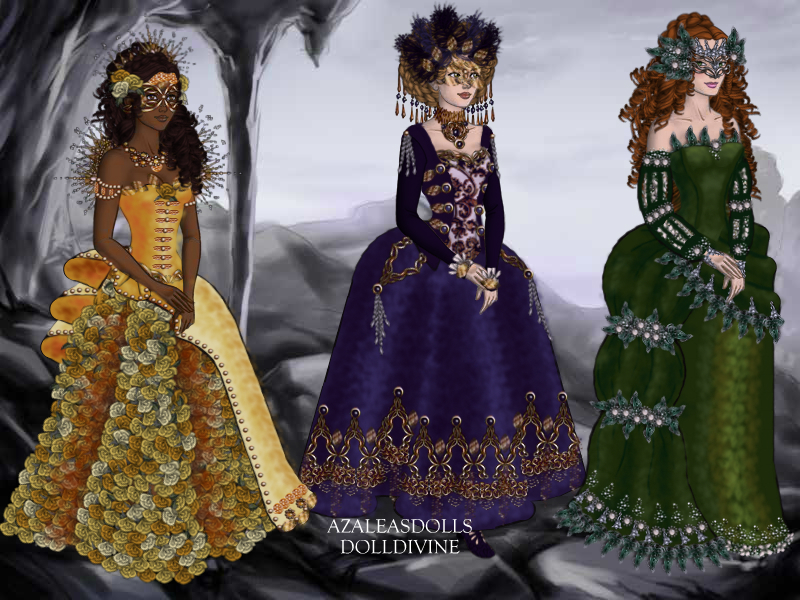 Venetian ball gowns by Eolewyn1010 on DeviantArt