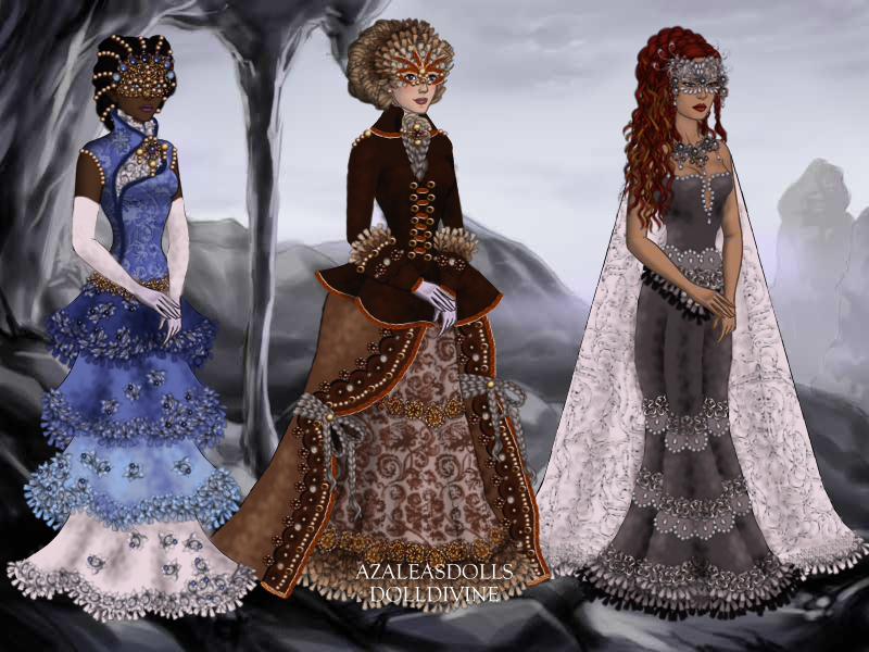 Venetian ball gowns 3 by Eolewyn1010 on DeviantArt