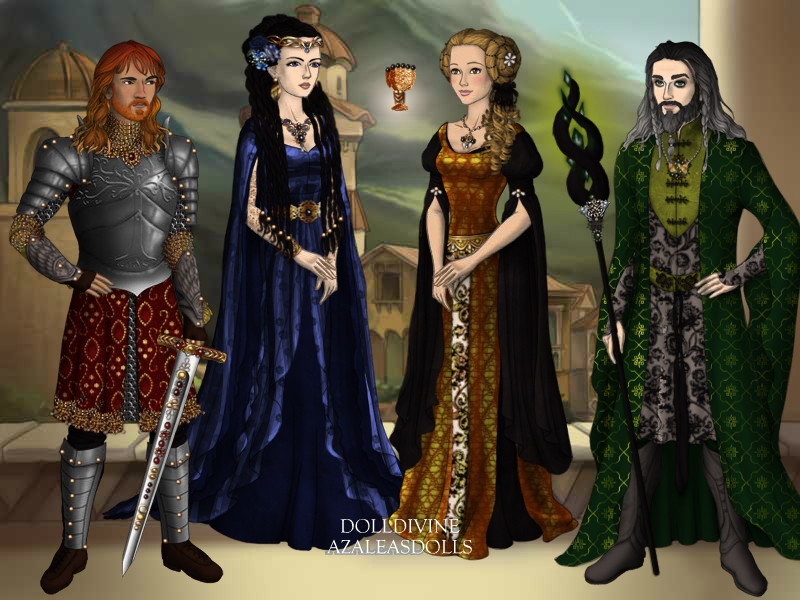 the founders of Hogwarts by Eolewyn1010 on DeviantArt
