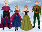 Anna and Andreas of Arendelle