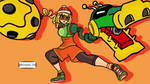 Min min Arms/super smash bros ultimate by antonyg726