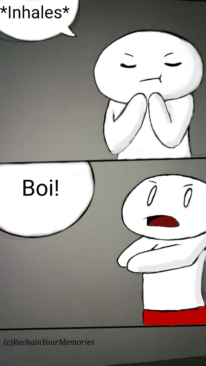 Boi! (Fan Comic) by RechainYourMemories