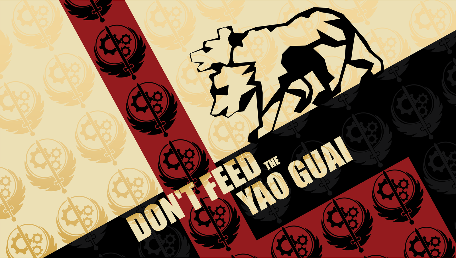 Don't Feed The Yao Guai by FragOcon
