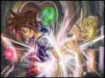 Sora And Roxas by browder12
