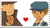 Layton x Legal Stamp by SamCCStamps
