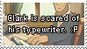 Request - Typewriter Fear by SamCCStamps