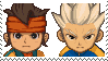 Endou x Gouenji Stamp by SamCCStamps