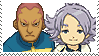 Fubuki x Someoka Stamp by SamCCStamps