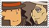 Layton x Dimitri Stamp by SamCCStamps