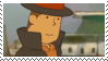 Layton Stamp by SamCCStamps