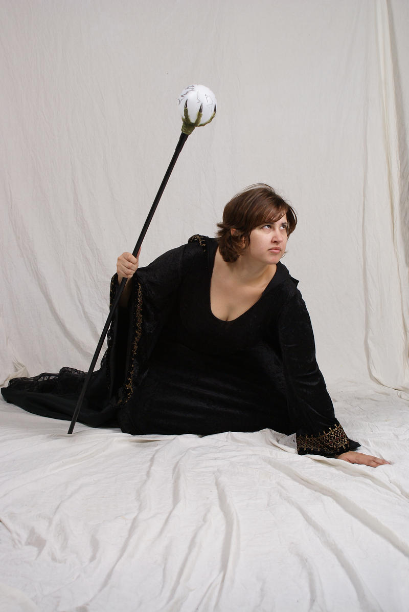 Sorceress by lindowyn-stock