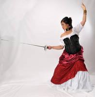 Senorita Fencer by lindowyn-stock