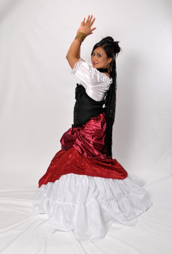 Spanish Dancer by lindowyn-stock