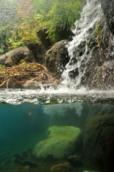 Waterfall Cross Section