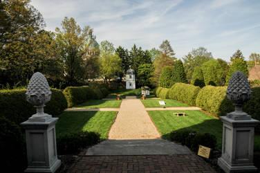 Manor Garden by lindowyn-stock