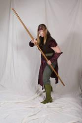 Elven Monk 2 by lindowyn-stock