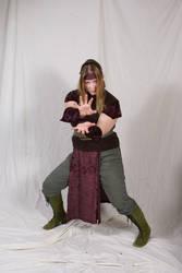 Elven Monk 3 by lindowyn-stock