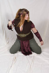 Elven Fighter 2 by lindowyn-stock
