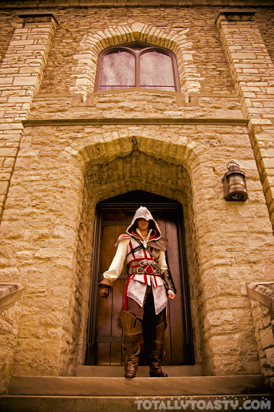 Ezio - Assassin's Creed II by ArielleMarie