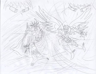 The Heat of Battle by Rythun