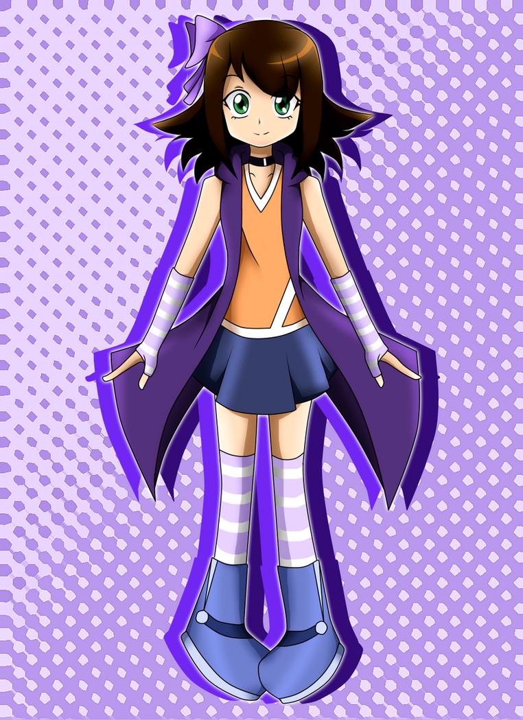Megumi YGO Arc-V Version by xLeylaSapphire