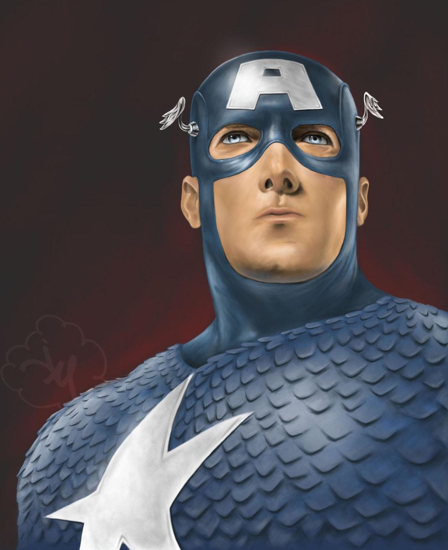 Captain America by jdotjam