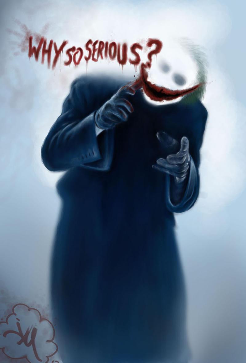 The Joker by jdotjam