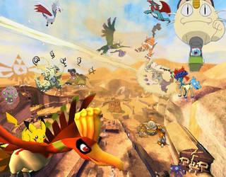 Pokemon Banner by sasymankanpro