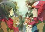 Wan and Ashitaka