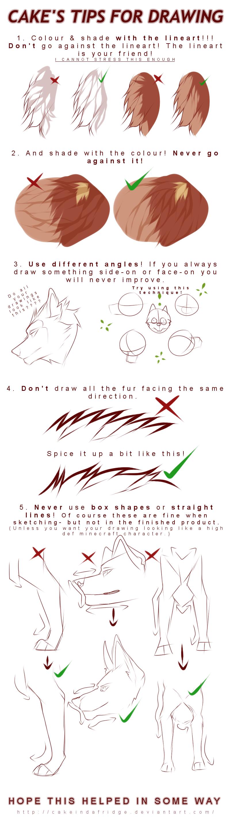 Cake Art Techniques : tutorialCake s tips for drawing by Cakeindafridge on ...