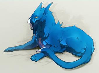 Blue King by Cakeindafridge
