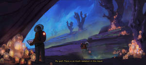 Artstation challenge : Grand space opera (part 1/4