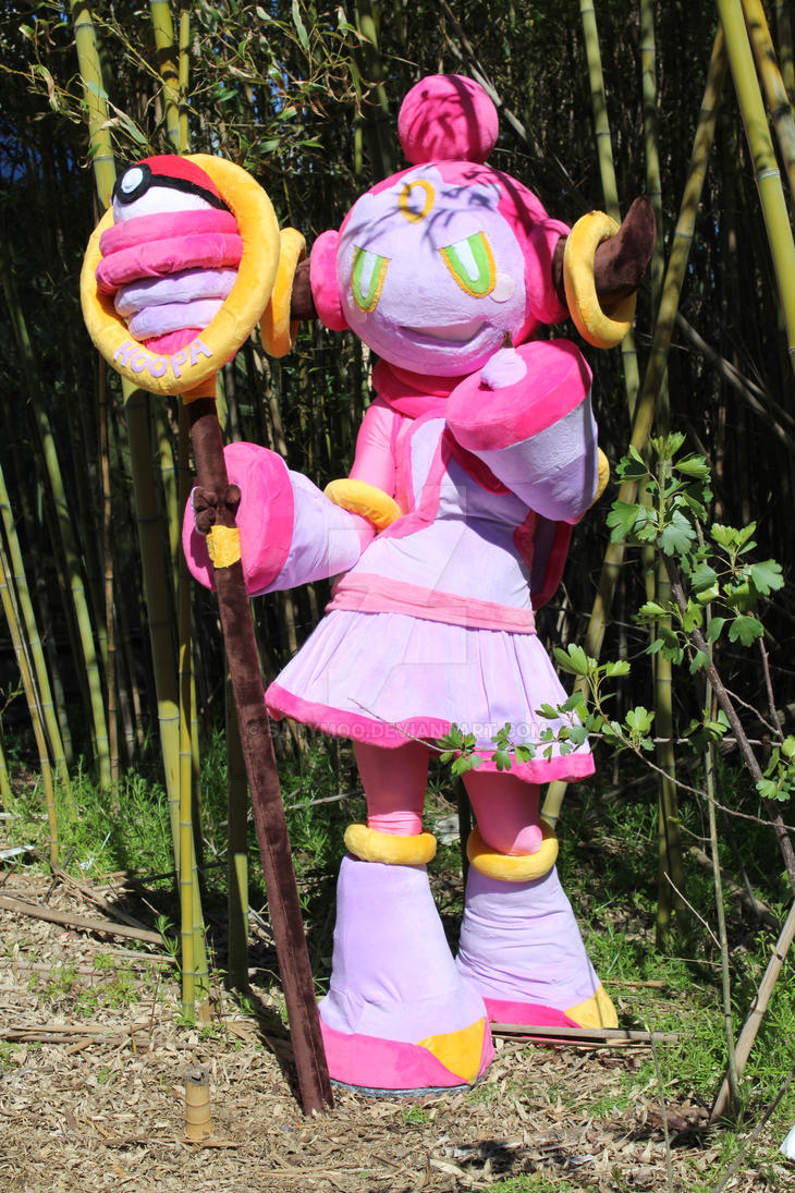 Pokemon HOOPA cosplay by SatyMoo