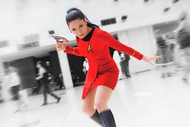 Member of Starfleet by SatyMoo