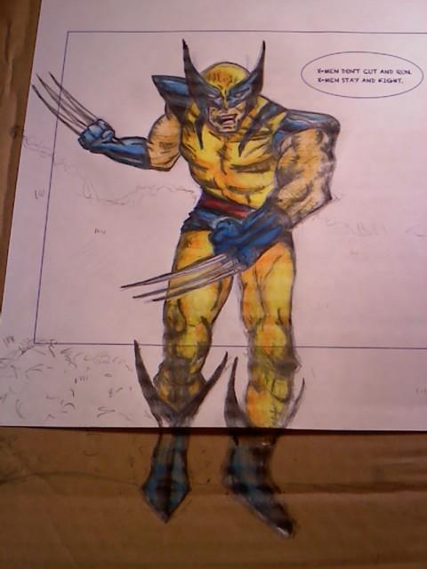 X-Men Fight by HannahsDefense
