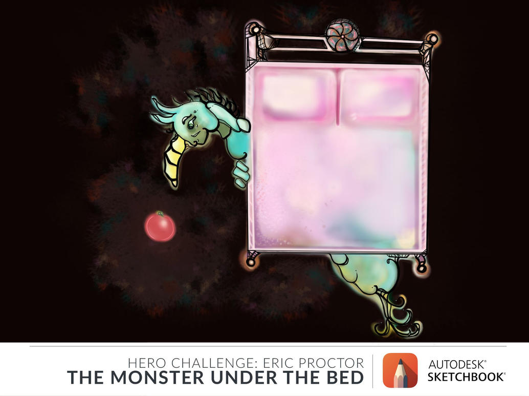 May Hero Challenge | Fruit Monster Under The Bed by HannahsDefense