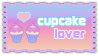Cupcake Lover | Stamp by HannahsDefense