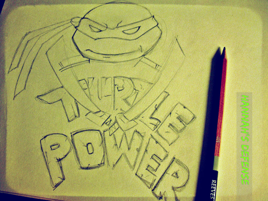 Sketch The Power by HannahsDefense