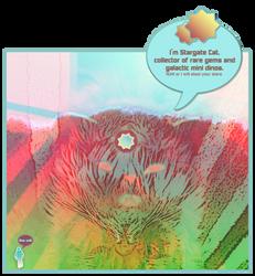 Stargate Cat by HannahsDefense