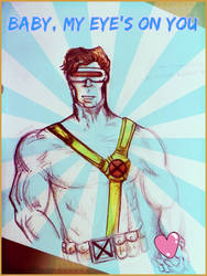 X-Men Valentine: Cyclops by HannahsDefense