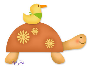 The tortoise and the duck by myspinster