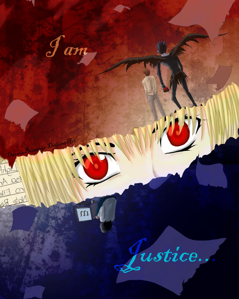 Who is justice? by DarshaBezarius