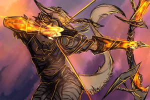 Inktober - [GW2] Path of Fire by Mollish