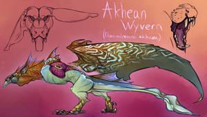 [Draka Imperium] Akhean Wyvern 2018 Concept by Mollish