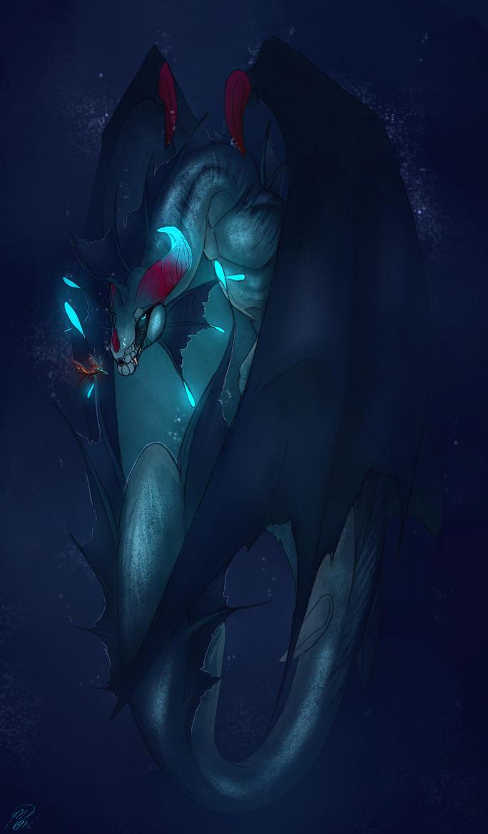 Abyssal Huntress by Mollish