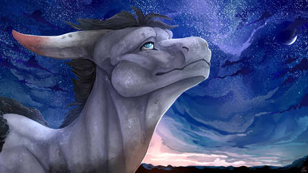 [Com] Night Gazing by Mollish