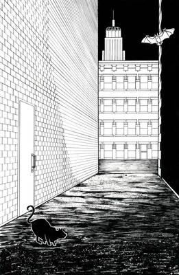 Alley in Gotham