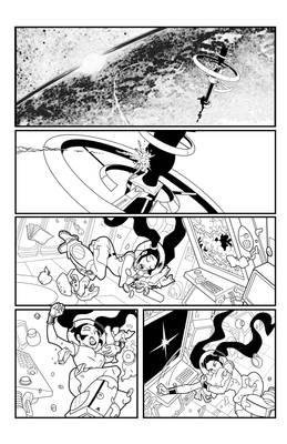 Trixie Dynamite - Page 1 - inks by me